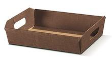 Contenitore in cartone color cioccolato : Cestini
