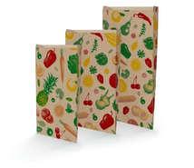 Sacchetti in carta kraft frutta e verdura : Borse