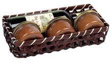 Corbeille bambou marron : Cestini