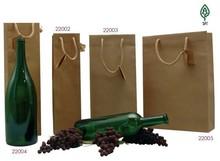 """Borse in carta kraft naturali - collezione """"France Nature"""" : Bottiglie e prodotti locali"""