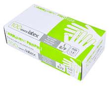 100 gants en Latex : Forniture