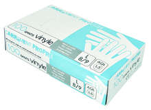 100 gants en Vinyle : Forniture