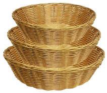 Panières rondes en polypro : Cestini