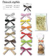 100 Nœuds raphia Twist : Accessori per imballaggi