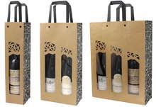 Sac kraft bouteille + fenêtre AUTHENTIQUE : Bottiglie e prodotti locali