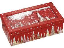 """Coffret carton rectangle """"Bonnes fêtes"""" : Speciale feste"""