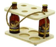 Serviteur 6 bières peuplier et corde  : Bottiglie e prodotti locali