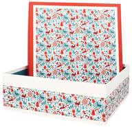 Boite Coffret  Carton Laponie  : Speciale feste