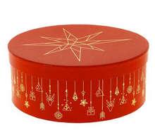 Boite à chapeau Ronde Christmas  : Speciale feste