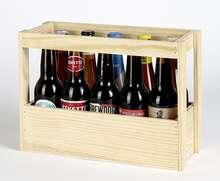 Coffret bois bières  : Bottiglie e prodotti locali