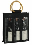 Borsa in iuta 3 bottiglie : Bottiglie e prodotti locali