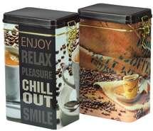 """Boite métal à café """"CHILL OUT"""" : Scatole"""