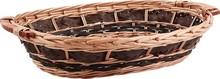Cestino in vimini 50-46x35x11cm : Cestini