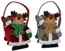 Sac feutrine Cerfs de Noël : Speciale feste