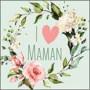 Etiquette I love maman : Accessori per imballaggi