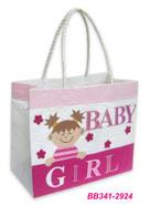 """Borsa di carta """"Baby Girl"""" : Borse"""