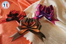 Fiocchi forma papillon brillanti lisci 115 cm : Accessori per imballaggi