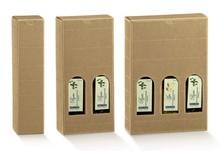 Confezione in cartone olio d'oliva altezza 240 mm : Bottiglie e prodotti locali