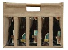 Borsa in iuta 5 bottiglie 37.5 cl : Bottiglie e prodotti locali