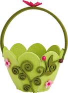 Mini cestino in feltro - Farfalle : Speciale feste