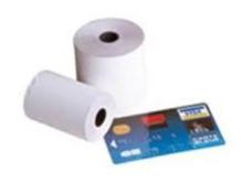 Rullo per stampa scontrini Carta di Credito 57x40x12mm : Forniture
