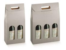 Confezione in cartone per 2, 3 bottiglie : Bottiglie e prodotti locali