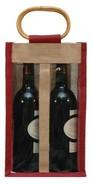 Borsa in iuta 2 bottiglie 75 cl + finestre : Bottiglie e prodotti locali