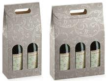 Confezione grigia per 2, 3 bottiglie 0.75 l : Bottiglie e prodotti locali