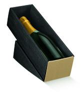 Cofanetto in cartone per bottiglia in esposizione : Bottiglie e prodotti locali