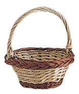 Piccolo cestino in vimini Ø 13 a 5 cm : Cestini