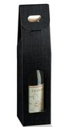 Confezione in cartone nero 1 bottiglia + finestra : Bottiglie e prodotti locali