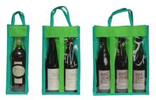 Borsa per bottiglie in tessuto non tessuto con finestra : Bottiglie e prodotti locali