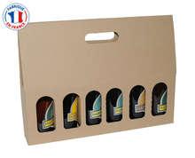 Acquisto di Scatola in cartone per 6 bottiglie di birra 33cl