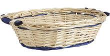 Cestino ovale in legno : Cestini
